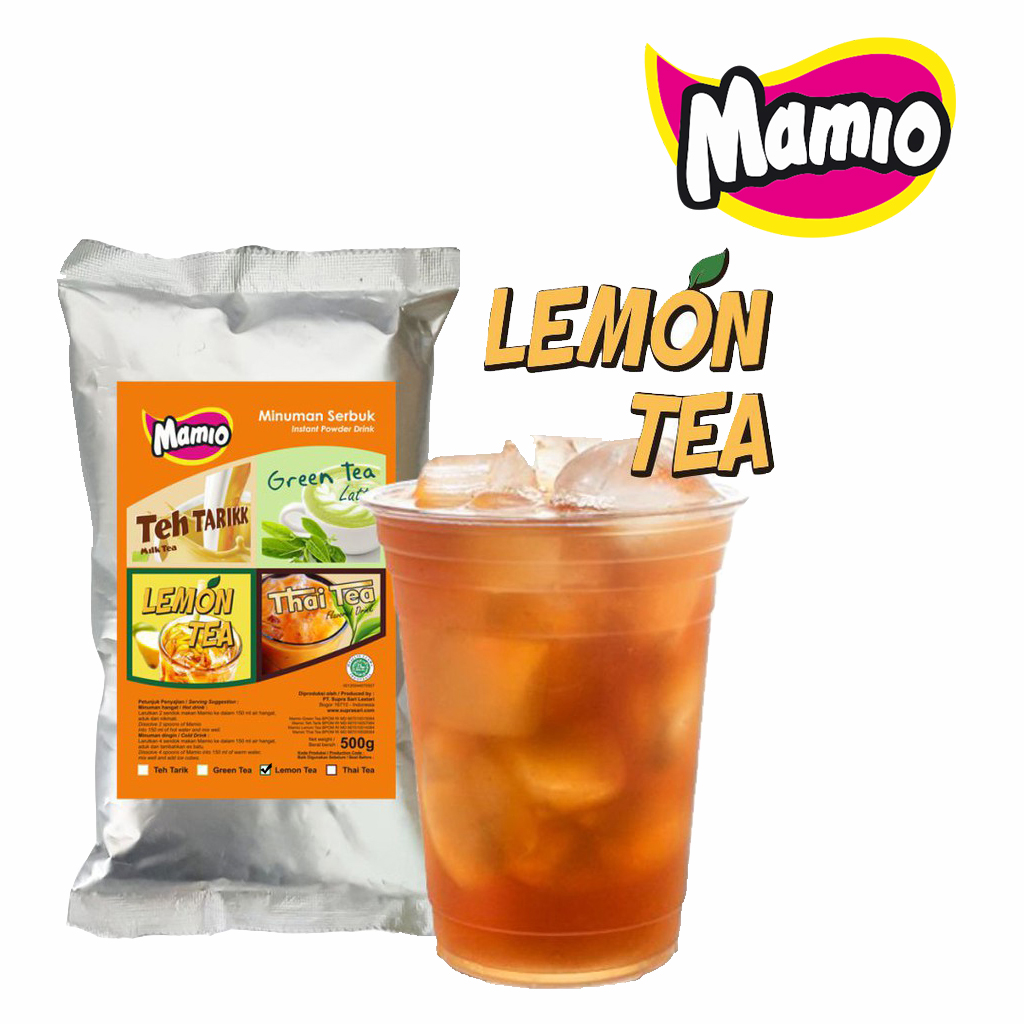 Minuman Lemon Tea